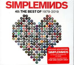 40: The Best of 1979-2019-Deluxe | Simple Minds